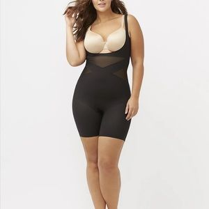 Shape By Cacique Open-Bust Thigh Shaper